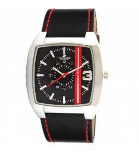 Zegarek męski Timemaster 127/09 Diesel czarno czerwony
