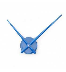 Duży Zegar ścienny 3D DIY XXL12S niebieski