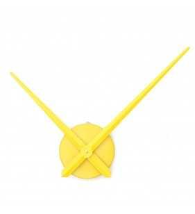 Duży zegar ścienny 3D DIY XXL12S żółty