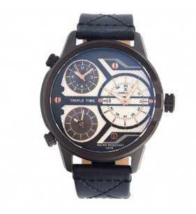 Zegarek męski Daniel Klein 11478-1 czarno niebieski