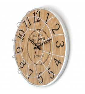 Zegar ścienny skandynawski styl 50 cm