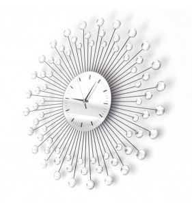 Nowoczesny zegar ścienny Diamond 1059 indeks