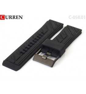 24 mm Kauczukowo gumowy pasek do zegarka Curren C-058.01