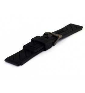 Kauczukowo pasek do zegarka 24 mm