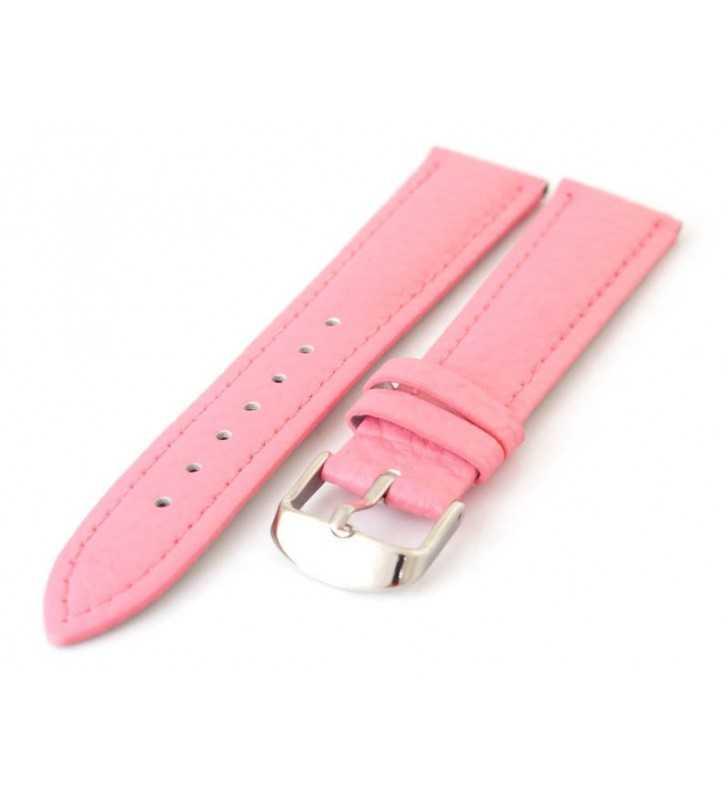Różowy pasek do zegarka