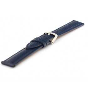 Skórzany pasek do zegarka  niebieski