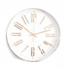 Zegar w kolorze różanego złota