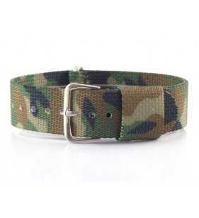 Pasek do zegarka parciany Diloy Nato Military 410.C2
