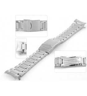 Bransoleta stalowa do zegarka Diloy CM644C w kolorze srebrnym rozmiar 18 mm