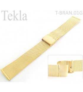 Bransoleta stalowa do zegarka Tekla T-BRAN.01G złota