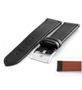 Skórzany pasek do zegarka Diloy 401.1 połysk