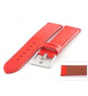Skórzany pasek do zegarka Diloy 401.6 połysk