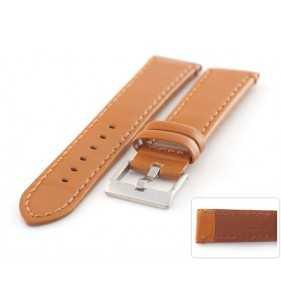 Skórzany pasek do zegarka Diloy 401.3 połysk