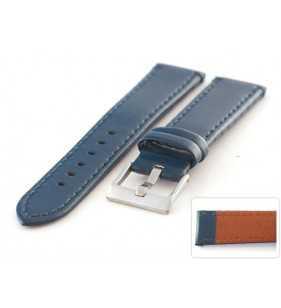 Skórzany pasek do zegarka Diloy 401.5 połysk