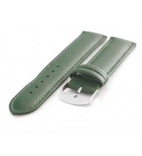 Skórzany pasek do zegarka Diloy 302.27 zielony