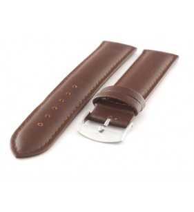 Skórzany pasek do zegarka Diloy 302.2 brązowy