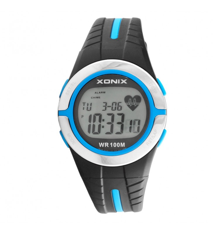 Zegarek sportowy z pulsometrem  Xonix HRM2-5 WR 100m