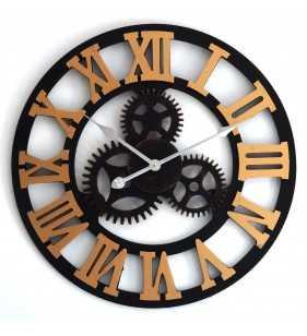 Nowoczesny zegar ścienny VINTAGE SHABBY LOFT 60 cm