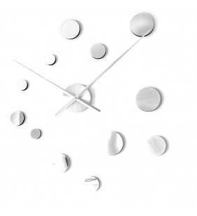 Duży nowoczesny zegar ścienny LUXURY DIY...