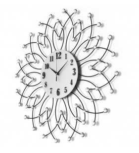 Nowoczesny zegar ścienny Diamond