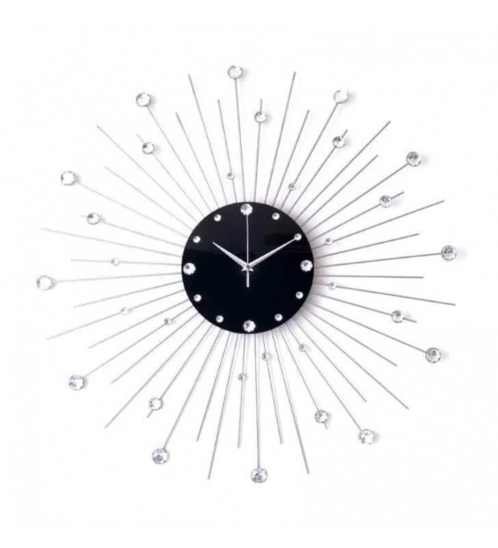Nowoczesny zegar ścienny Nextgeneration krystal