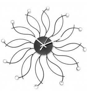 Nowoczesny zegar ścienny Nextgeneration DIAMOND 50 cm