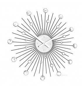 Nowoczesny zegar ścienny Nextgeneration DIAMOND...
