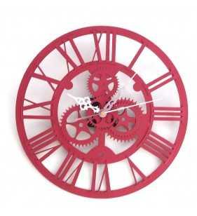 Nowoczesny zegar ścienny VINTAGE SHABBY LOFT 33 cm