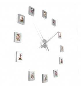 Nowoczesny zegar ścienny ramki ramka na zdjęcia...