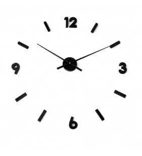 Nowoczesny zegar ścienny naklejany