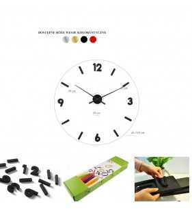 Wymiary zegara DIY 1899 czarny