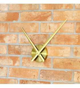 Duży zegar ścienny 3D DIY XXL12S złoty