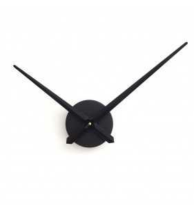 Duży zegar ścienny 3D DIY XXL12S czarny