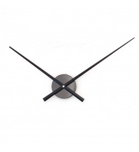 Duży zegar ścienny 3D DIY XXL43S czarny