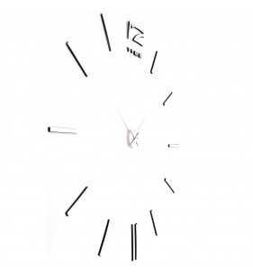 Zegar ścienny naklejany XXL