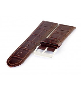 Pasek skórzany do zegarka HORIDO 588.02 brązowy