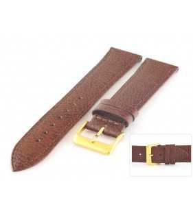 Pasek skórzany do zegarka HORIDO 9502.02 brązowy