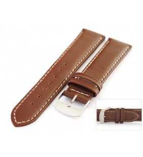 Pasek skórzany do zegarka HORIDO 0147.02 brązowy matowy