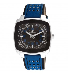 Zegarek męski Timemaster 127/146 niebieski pasek