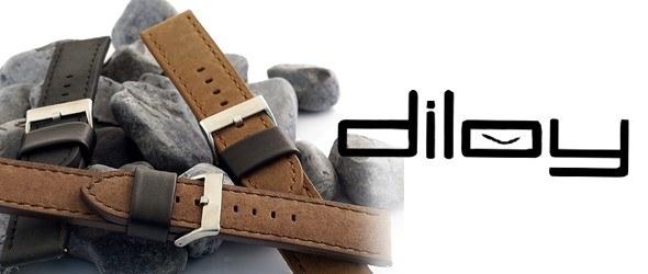 Paski i bransolety do zegarków marki DILOY