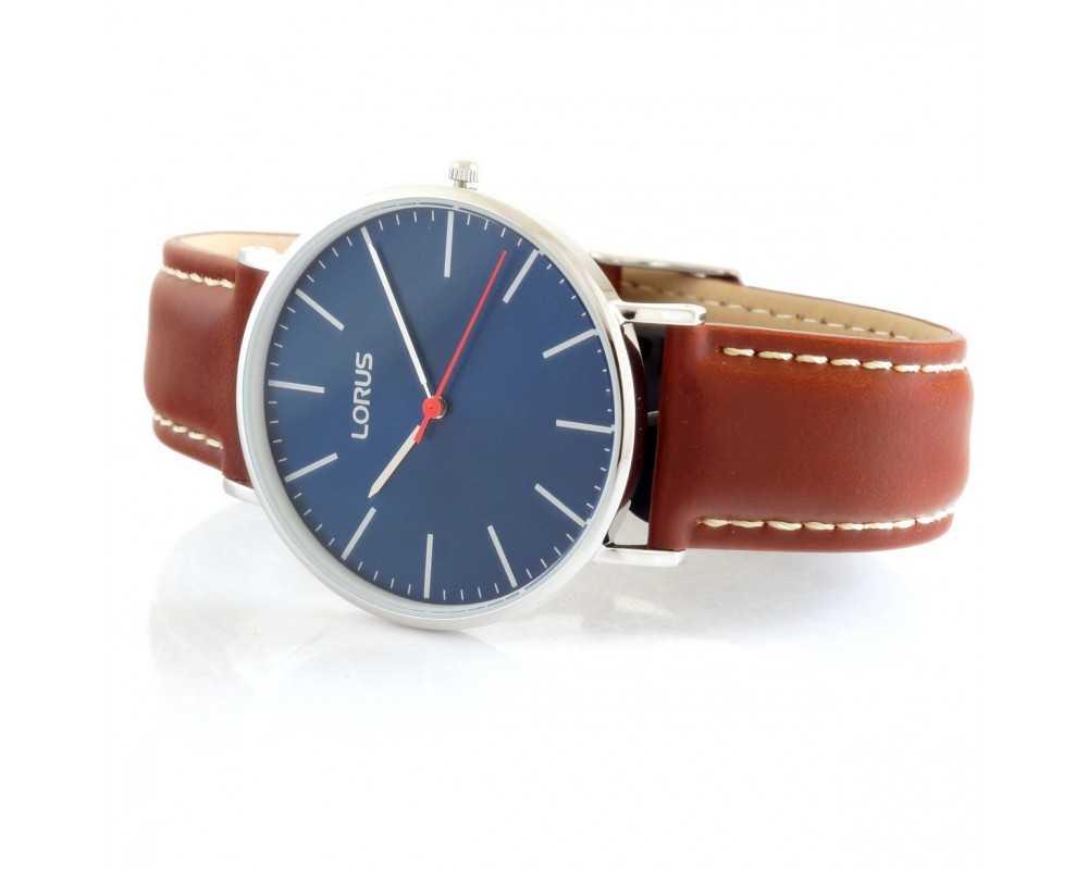 Zegarek męski Lorus RH813CX-9 niebieska tarcza