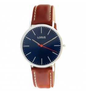 Zegarek męski Lorus RH813CX-9 na brązowym pasku