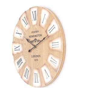 Zegar ścienny styl skandynawski 51 cm