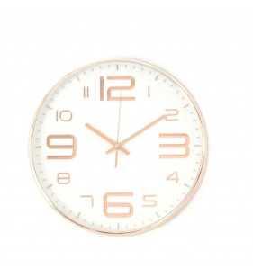 Klasyczny zegar ścienny 3016 Rose Gold