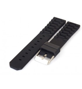 Pasek do zegarka gumowy Diloy S252.1 , gumowy pasek,