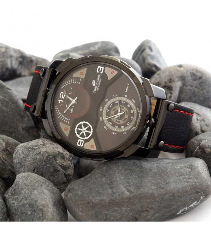 Zegarek męski Timemaster na skórzanym pasku