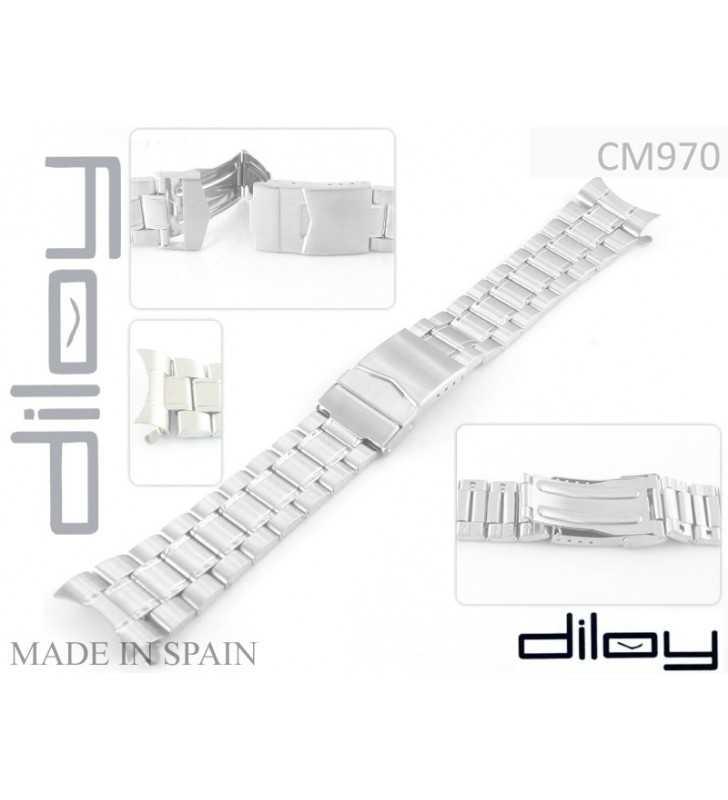 Bransoleta stalowa do zegarka Diloy CM970C