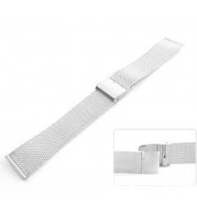 Bransoleta stalowa do zegarka Tekla T-BRAN.01S  SREBRNA