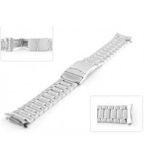 9c61e10eeed537 20 mm Bransoleta stalowa do zegarka Diloy CM1119C