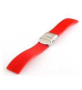 Kauczukowy pasek do zegarka Curren czerwony